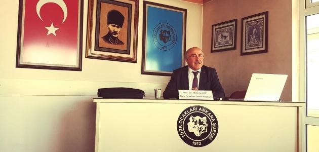 Genel Başkanımız Prof. Dr. Mehmet ÖZ'ün