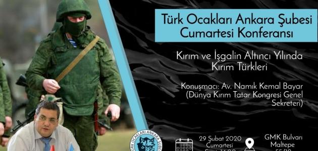Konferans: Kırım Türkleri