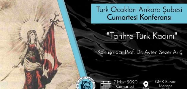 Konferans: Tarihte Türk Kadını