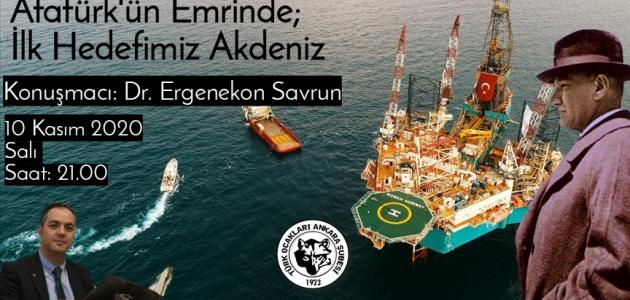 10 Kasım Konferansı: Akdeniz