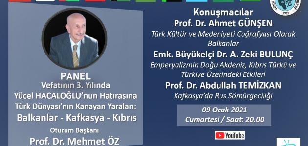 Yücel Hacaloğlu Anısına Panel