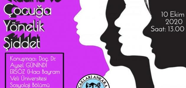 İnternet Konferans: Kadın ve Çocuğa Yönelik Şiddet